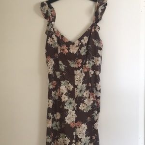 NWT- Leith Floral Jumpsuit